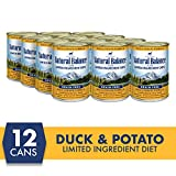 Natural Balance LImited Ingredient Diets Duck & Potato Formula Wet Dog Food, 13 Ounces (Pack of 12), Grain Free