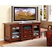 "Hot Sale Bradley TV Console (Medium Cherry) (32""H x 71""W x 26""D)"