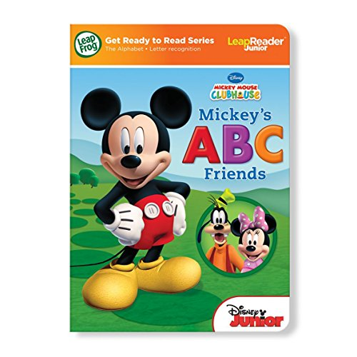 LeapReader Junior Get Ready to Read Book: Disney Mickey Mouse Clubhouse