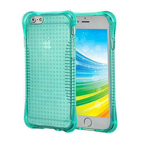 best sneakers 49c90 1e59d iPhone 6 Plus Case, [Slim Shockproof] [MINT GREEN] Soft - Import It All