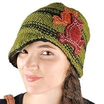 Silly yogi twin owl newsboy hat-Sage-One Size