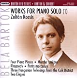 Bartok: Solo Piano Works 1
