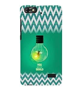 EPICCASE You Light up my World Mobile Back Case Cover For Xiaomi Redmi Mi4i (Designer Case)