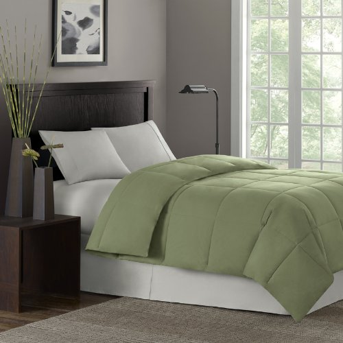 Premier Comfort Softspun Full/Queen Down Alternative Comforter, Sage