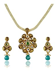 Goldencollections Elegant Ethnic Pendant Set