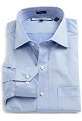 Tommy Hilfiger Men's Twill Dress Shirt