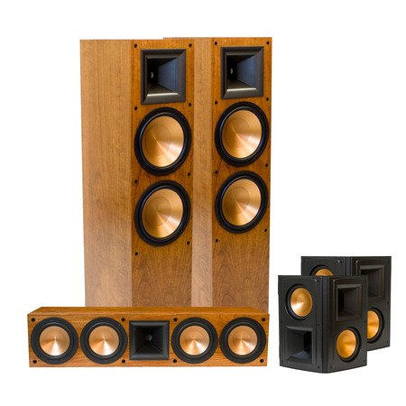 Klipsch RF-7 II Reference Series Home Theater System (Cherry) (Klipsch Rc 64 Ii compare prices)