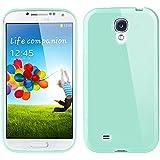 Samsung Galaxy S4 Hülle , Bestwe Silicon Protector Schutzhülle TPU Skin Case Samsung Galaxy S4 Silikon Tasche Hülle (Samsung Galaxy S4, Turquoise türkis)