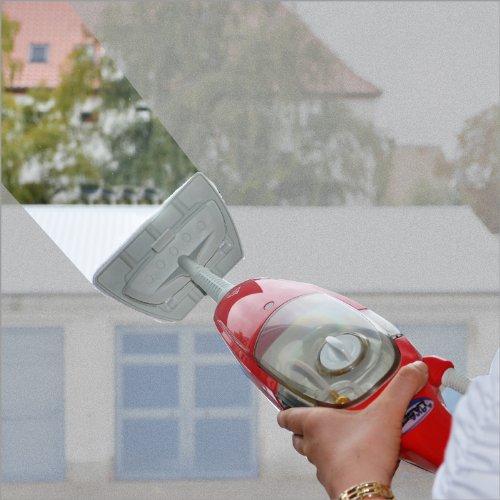 Aqua laser gold h2o pulitore a vapore 5in1 rosso for Scopa h2o recensioni