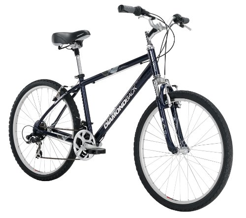 2c0968dc0 Diamondback Bicycles Men s 2014 Wildwood Classic Sport Comfort Bike with  26-Inch Wheels Dark Blue Large