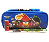 Angry Birds Blue Pencil Case Set