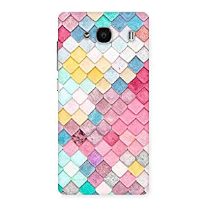 Delighted Colorfull Rocks Multicolor Back Case Cover for Redmi 2s