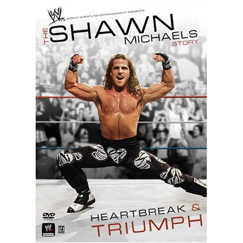 Shawn Michaels Story: Heartbreak and Triumph - 2007 51IIoMjLz6L._SS500_