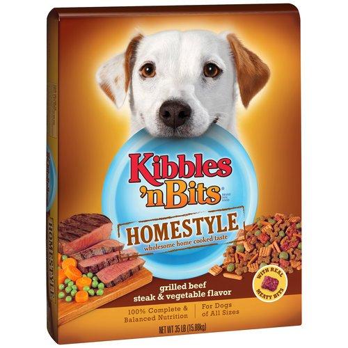 Pet Homestyle Dog Food, 35 Lbs, Grilled, Beef & Vegetable Flavor, Antioxidant
