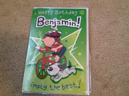 Happy Birthday Benjamin - Singing Birthday Card - 1