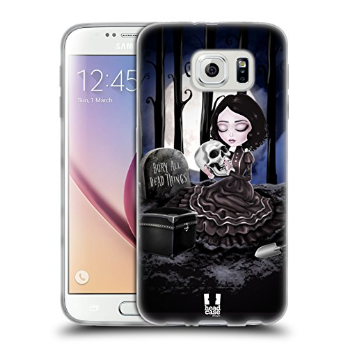 Head Case Designs Bury All Dead Things Arte Macabra Cover Morbida In Gel Per Samsung Galaxy S6