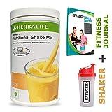 Herbalife Formula 1 Health Drink (Mango flavour ) + Shaker + Effacer Fitness Journal