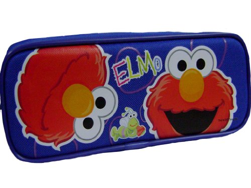 New Elmo Blue Pencil Case