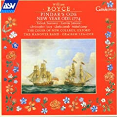 Boyce: Pindar's Ode/New Year