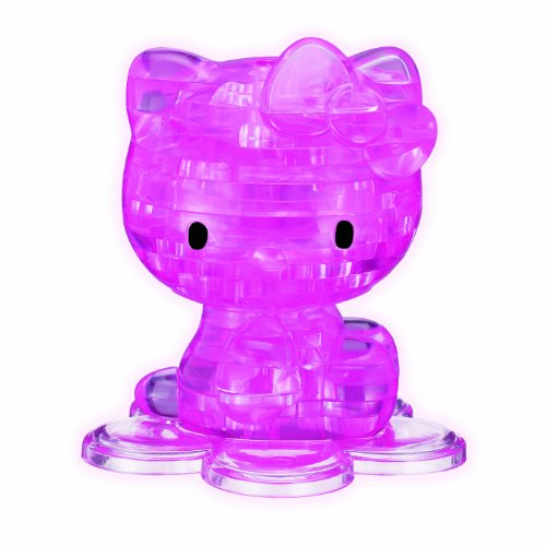 3D Crystal Puzzle - Hello Kitty - 1