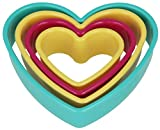 Metaltex Herz-Ausstechformen, die ineinandergesteckt werden...