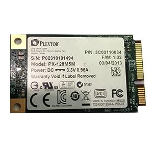Plextor PX-128M5M 128GB M5M Series mSATA 6GB/s 512MB DDR3 JEDEC MO-300/Ultrabook Internal SSD