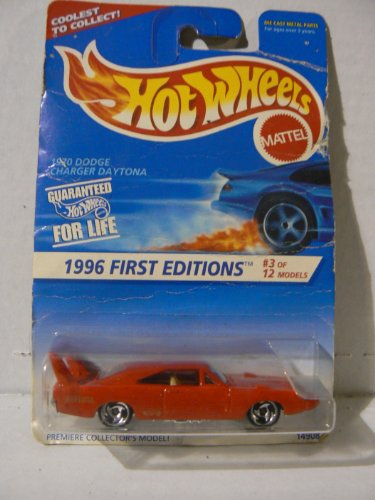 Hot Wheels 1996 First Editions #3 of 12 Models 1970 Dodge Charger Daytona with Razor Wheels