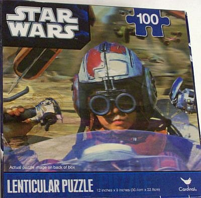 Star Wars Anakin Skywalker Lenticular Puzzle 100pcs - 1