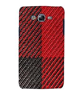 printtech Woolen Thread Pattern Back Case Cover for Samsung Galaxy A3 /Samsung Galaxy A3 A300F