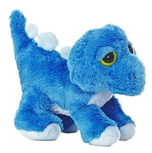 Original Dreamy Eyes Plüschtier Dinosaurier blauer Stegosaurus, Kuscheltier ca. 30 cm