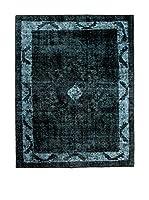 CarpeTrade Alfombra Persian Vintage (Azul Petróleo)