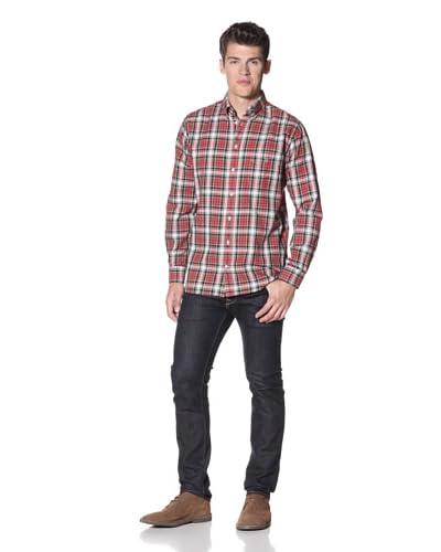 GANT Men's C.M Edwards Oxford Long Sleeve Shirt  [Amaryllis Red]