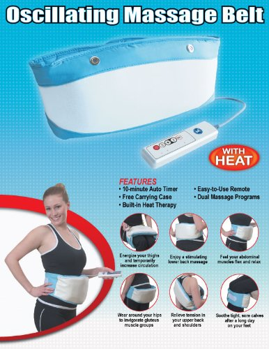 Electric Body Belt Massager with HEAT