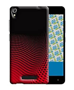 PrintFunny Designer Printed Case For Gionee Pioneer P5w