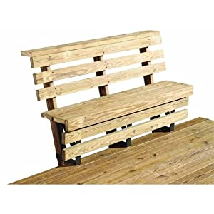 Amazon.com: Deck Bench Brackets: Home Improvement