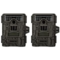 Buy 2 MOULTRIE Game Spy D-444 Low Glow Infrared Digital Trail Hunting Cameras - 8MP by Moultrie