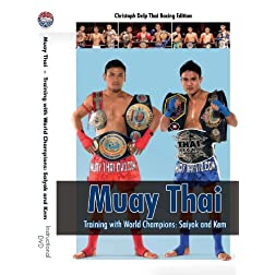 Muay Thai DVD - Training with World Champions: Saiyok and Kem