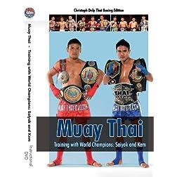 Muay Thai DVD - Training with World Champions: Saiyok and Kem