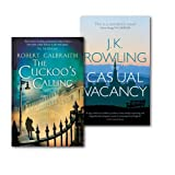 J.K. Rowling The Cuckoo's Calling[hardcover] and The Casual Vacancy By J.K. Rowling Collection 2 Books Set,