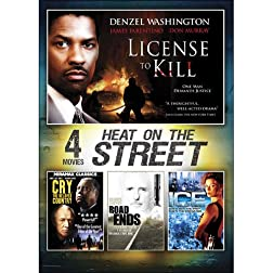 4-Movie Heat on the Street V.2