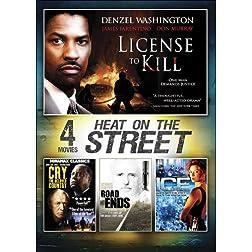 4-Movie Heat on the Street V.2