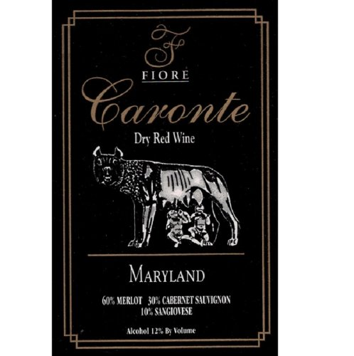 "2007 Fiore Winery ""Caronte"" Red Blend 750 Ml"