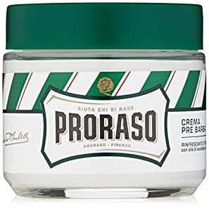 Proraso Pre-shave Cream, Refresh, 3.6 Ounce