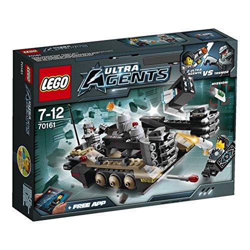 LEGO Ultra Agents 70161 Tremors Kettenfahrzeug