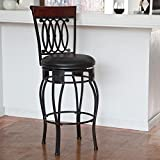 Hillsdale Montello 25 in. Swivel Counter Stool -