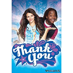Victorious Thank You Notes w/ Envelopes (8ct)