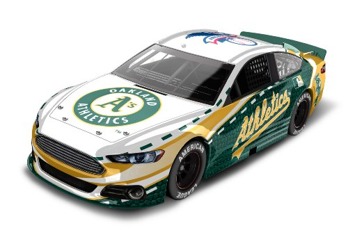 Oakland A's Major League Baseball Hardtop Diecast Car, 1:64 Scale - 1