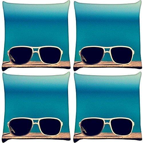 snoogg-confezione-da-4-bicchieri-sun-sand-n-stampa-4064-4064-cm-x-16-x-16-federa-cuscino