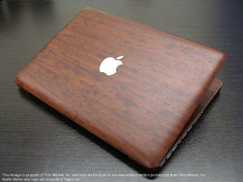 For Macbook Pro 13.3 Model A1278 Protective Skin Body Wrap Royal Primavera Wood (Full Kit 7 Pcs)