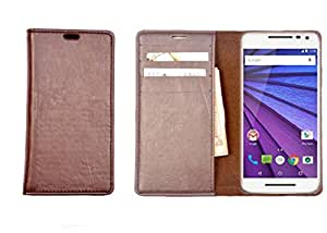 R&A Pu Leather Wallet Case Cover For Sony Xperia Z2